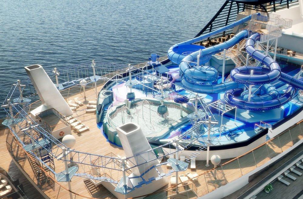 کشتی های کروز لوکس دنیا