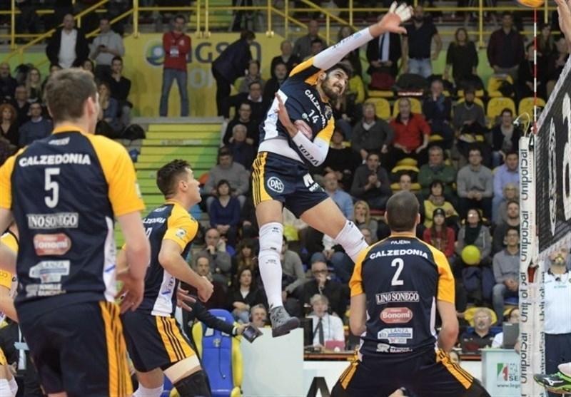 سری A1 والیبال ایتالیا، تقابل یاران غفور و معنوی نژاد در هفته نخست