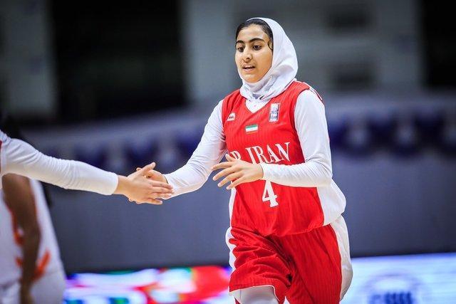 آمار دختران بسکتبالیست ایران برابر گوام، باز هم آقازادگان درخشید