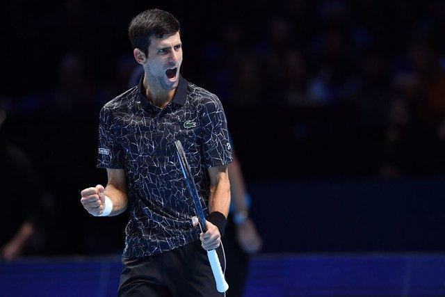 جوکوویچ فینالیست تور ATP لندن شد