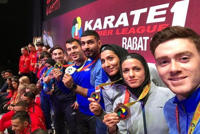 صعود نمایندگان ایران در رنکینگ فدراسیون جهانی کاراته