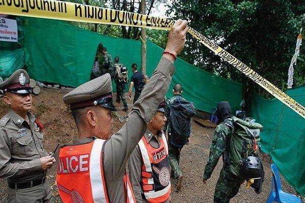 6 نوجوان محبوس در یک غار در تایلند نجات یافتند