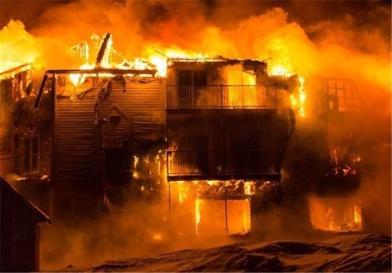 افزایش تلفات آتش سوزی ایالت کبک کانادا به 8 کشته