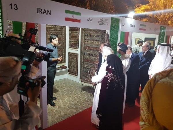 حضور هنرمندان ایرانی در دومین نمایشگاه بین المللی صنایع دستی عمان
