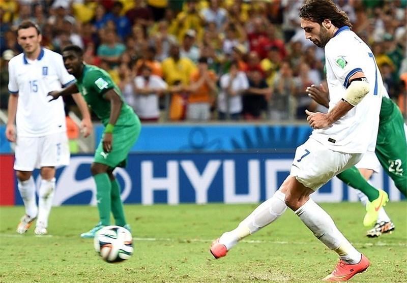 فزونی آماری ساحل عاج مانع صعود یونان نشد