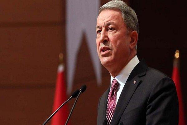 گفتگوی تلفنی وزرای دفاع ترکیه و یونان