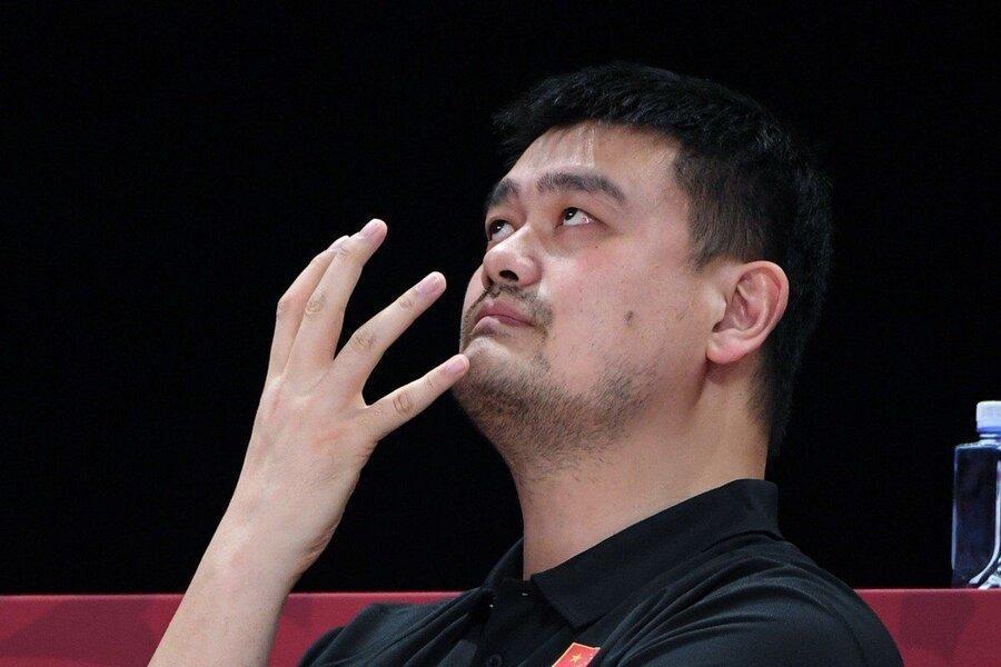 اشک های اسطوره بسکتبال چین پس از المپیکی شدن ایران سوژه رسانه ها شد