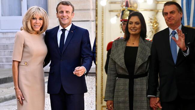 دعوای ناموسی روسای جمهوری فرانسه و برزیل