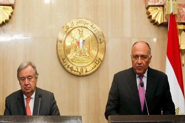 خشم وزیر خارجه مصر از ترکیه و قطر به خاطر دامن زدن به اعترضات مصر