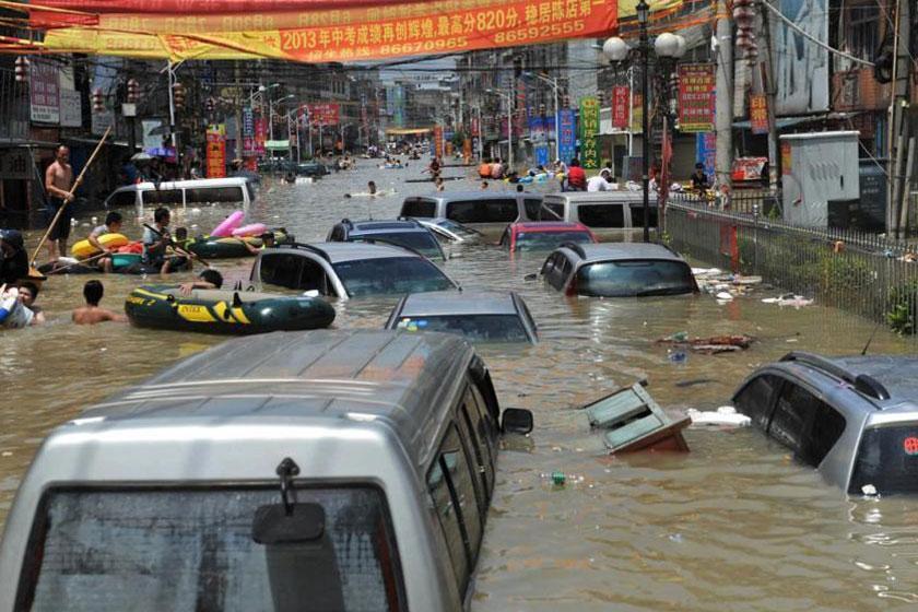 سیل در چین 15 کشته و 3 مفقود بر جا گذاشت