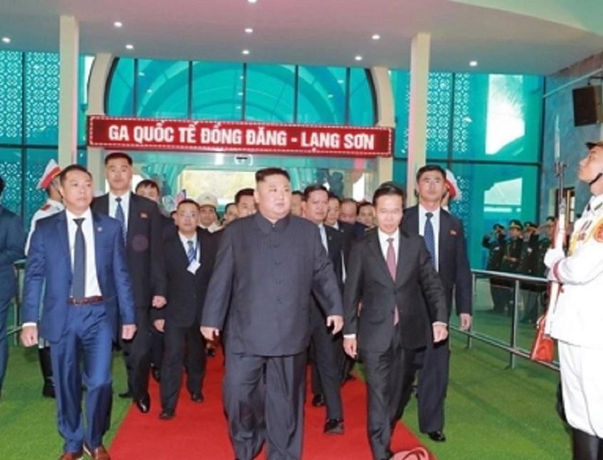 زمان بازگشت رهبر کره شمالی از ویتنام جلو افتاد