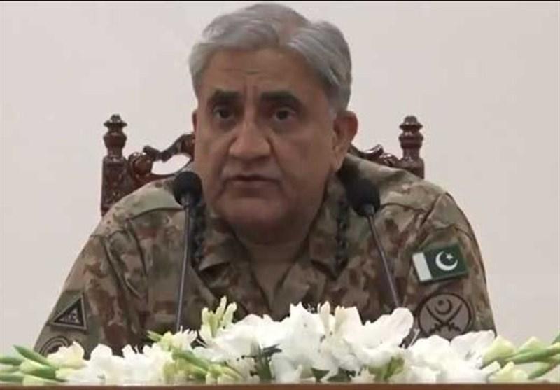 فرمانده ارتش پاکستان: کشمیری ها را تنها نخواهیم گذاشت