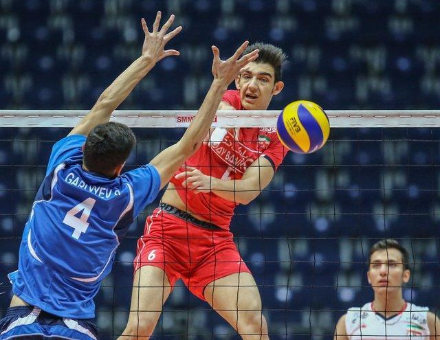 حریفان تیم ملی ب والیبال ایران در جام کنفدراسیون آسیا تعیین شدند