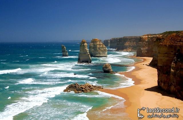 عجایب جهان، دوازده حواری (Twelve Apostles) استرالیا