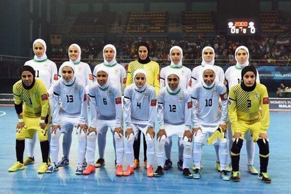 ترکیب تیم ملی فوتسال بانوان برای مسابقات قهرمانی آسیا