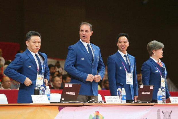 سفر عضو کمیته فنی ووشو به چین