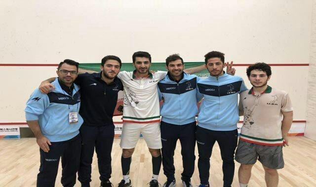 صعود اسکواش بازان ایرانی به نیمه نهایی قهرمانی آسیا
