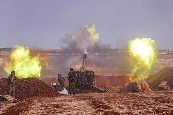 مرکز دیده بانی ارتش ترکیه در ادلب به محاصره ارتش سوریه درآمد
