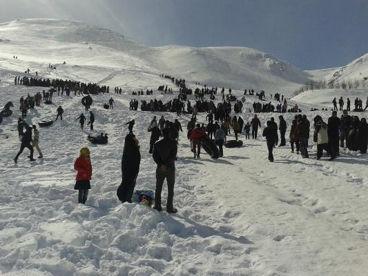 کوهرنگ آماده پذیرایی از گردشگران زمستانی است