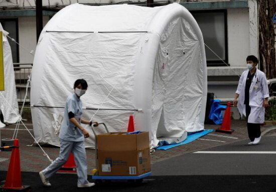 افزایش نمونه گیری کرونا در ژاپن با رشد آمار قربانیان