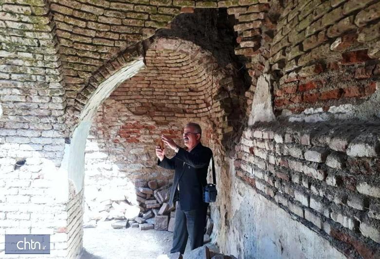 مراحل بازسازی و بازسازی حمام تاریخی مرزبانی بانه آنالیز شد