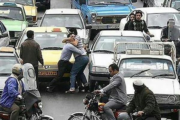 چند درصد نزاع های خیابانی مربوط به زنان است؟