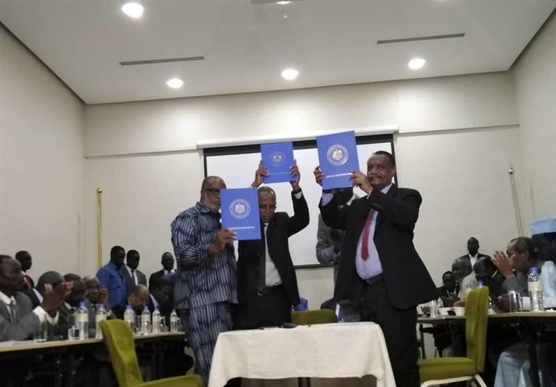 سودان، امضای جدول اجرایی توافقنامه صلح دولت با گروه های مسلح