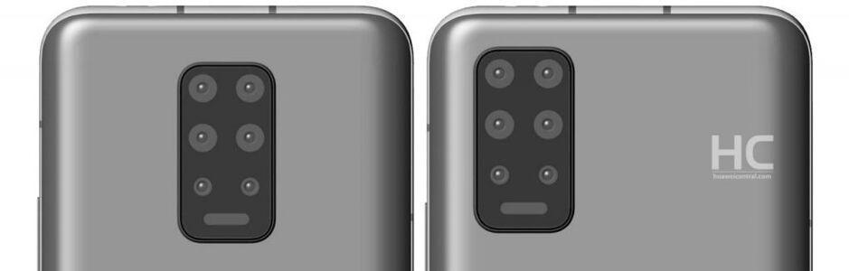 ثبت طراحی جدید برای گوشی های هوآوی؛ دوربین هشت تایی و بدنه یک پارچه