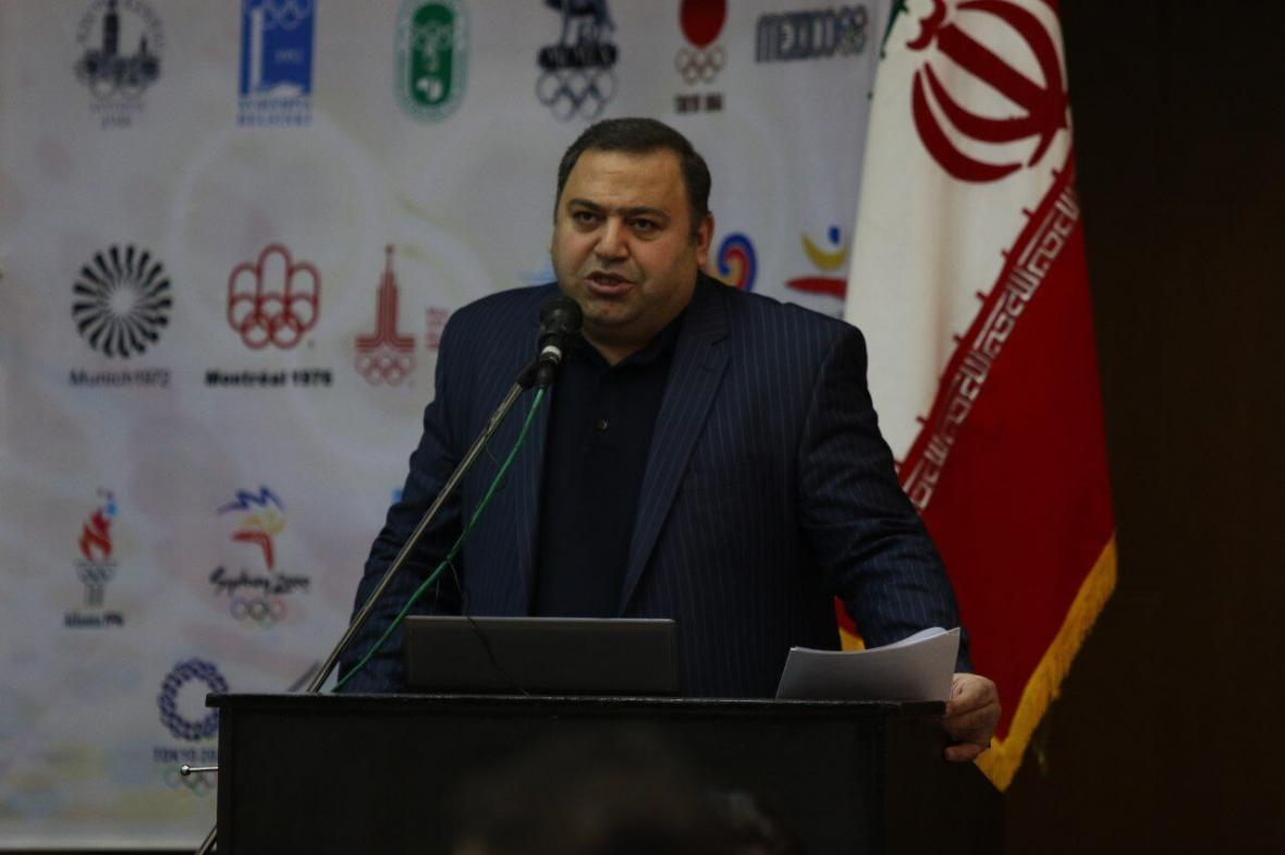 خبرنگاران گزارش طباطبایی از فعالیت های کاراته ایران به رییس فدراسیون جهانی