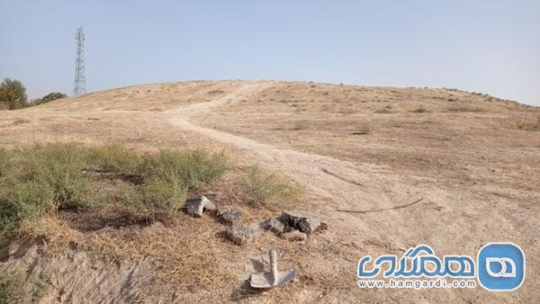 تپه ای تاریخی در البرز که راه نفسش بسته شده است