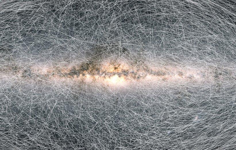 بهترین نقشه راه شیری و یکی از بزرگترین فهرست&zwnjهای ستاره&zwnjای تاریخ علم تهیه شد