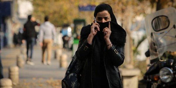 کیفیت هوای قرمز در تهران