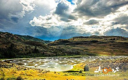تور کانادا: دریاچه خالدار و عجیب بریتیش کلمبیا در کانادا