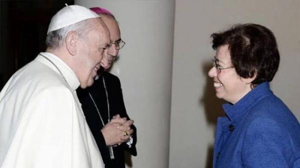 اولین زن به شورای کلیسای کاتولیک راه یافت