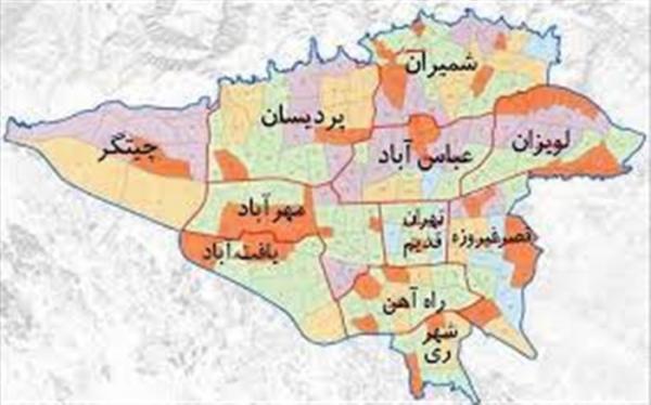 نقشه زمین شناختی یکپارچه استان تهران به زودی منتشر می گردد