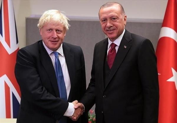 گفت وگوی تلفنی اردوغان و بوریس جانسون
