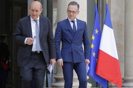 بیانیه آلمان و فرانسه درباره تحولات شرق اوکراین خبرنگاران