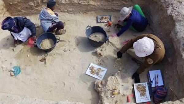 کاوش باستان شناسی در منطقه قزل قلعه فراهان