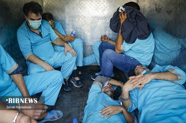 (تصاویر) برخورد با قاچاقچیان و خرده فروشان مواد مخدر