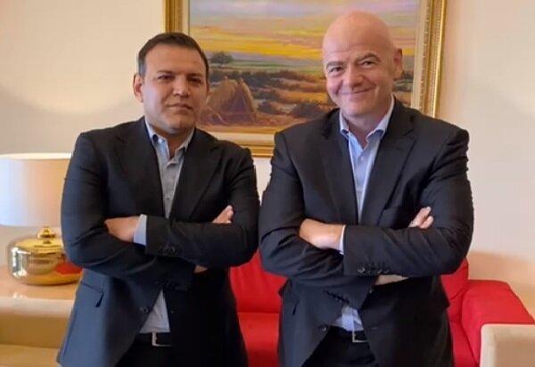اعلام جزئیات نشست رئیس فدراسیون فوتبال ایران با ایفانتینو