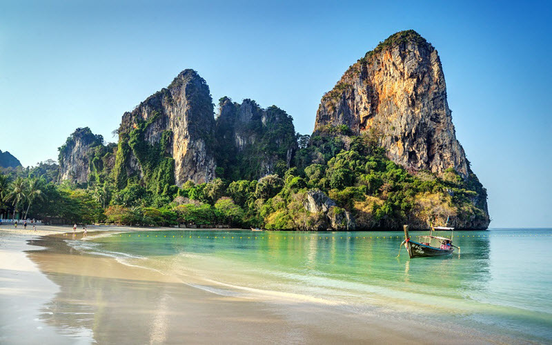 ساحل ریلی در تور تایلند