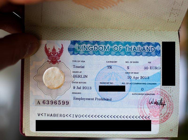 راهنمای ویزای توریستی تایلند